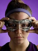 Northwestern University Lacrosse player Hilary Bowen.