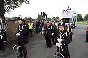 Henley Bucks/Berks UK.   Start of the procession , On Henley Reach. Saturday  17/09/2016<br /> [Mandatory Credit; Peter SPURRIER/Intersport Images]