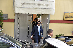 October 9, 2018 - °Stanbul, Türkiye - Staff members enter the Saudi Arabia consulate in Istanbul, Tuesday, Oct. 9, 2018. Saudi journalist Jamal Khashoggi disappeared a week ago after entering Saudi Arabia's consulate to obtain paperwork required for his marriage to his Turkish fiancee. Turkish officials have alleged he was killed in the compound while Saudis officials said he left the building unharmed. (Credit Image: © Depo Photos via ZUMA Wire)