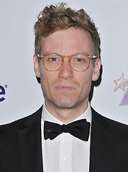 Barrett Foa arrives at Jessie Tyler Ferguson's 'Tie The Knot' 5 Year Anniversary celebration held at NeueHouse Hollywood in Los Angeles, CA on Thursday, October 12, 2017. (Photo By Sthanlee B. Mirador/Sipa USA)