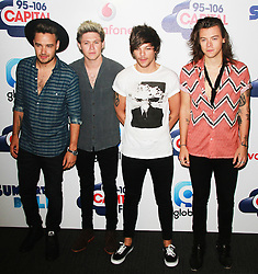 © London News Pictures. One Direction, Capital FM Summertime Ball, Wembley Stadium, London UK, 06 June 2015, Photo by Brett D. Cove /LNP