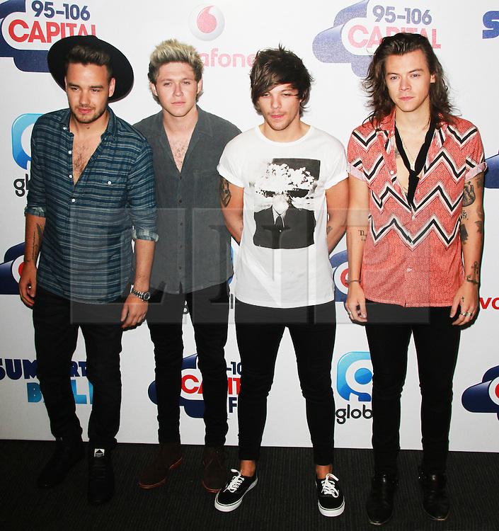 © London News Pictures. One Direction, Capital FM Summertime Ball, Wembley Stadium, London UK, 06 June 2015, Photo by Brett D. Cove /LNP