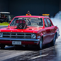 Craig Gerdes (2581) in his Supercharged Outlaw HK Holden Sedan.