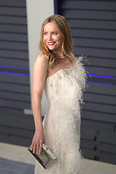 February 24, 2019 - Beverly Hills, California, U.S - Leslie Mann on the red carpet of the 2019 Vanity Fair Oscar Party held at the Wallis Annenberg Center in Beverly Hills, California on Sunday February 24, 2019. JAVIER ROJAS/PI (Credit Image: © Prensa Internacional via ZUMA Wire)