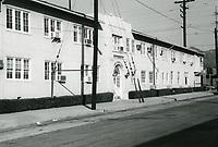 1972 Front entrance to Samuel Goldwyn Studios on Formosa Ave.