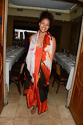 RACHEL BARRETT at an evening of Dinner & Dancing at Daphne's, 112 Draycott Avenue, London SW3 on 24th July 2013.