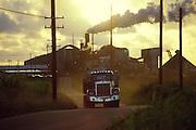 Sugar cane haul truck, Kauai, Hawaii<br />