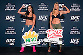 UFC 202 Media Day + Workouts
