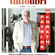 English writer Patrick McGrath - La Stampa, tuttolibri - Italy - February 2020.