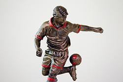 Sculpture of Marcos Tavares during NZS and PrvaLiga event before new football season in Slovenia, on June 23, 2011, in Hotel Kokra, Brdo pri Kranju, Slovenia. (Photo by Vid Ponikvar / Sportida)