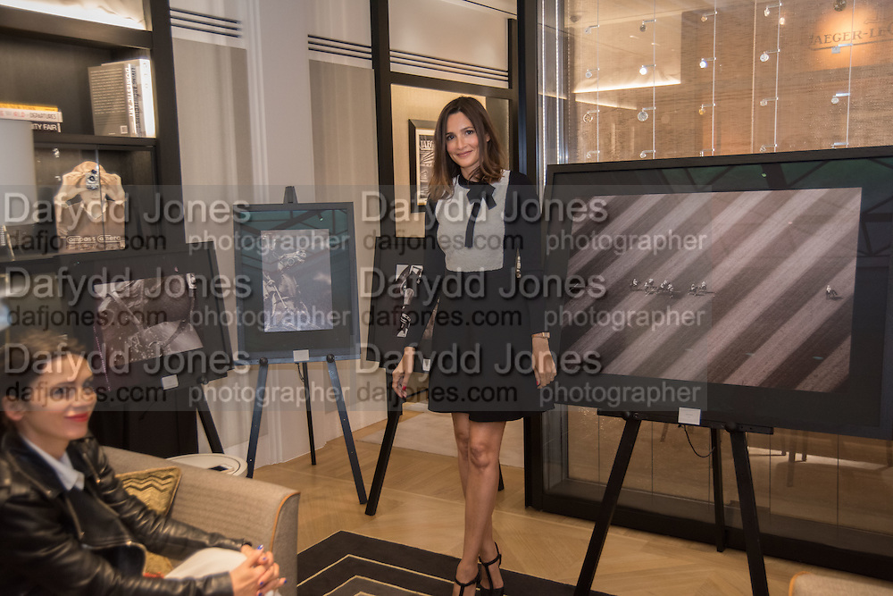 LARA BOHINC; ASTRID MUNOZ, preview of 'UNBRIDLED SYNCHRONY', an exhibition of works by photographer Astrid Muñoz. Jaeger-LeCoultre Boutique<br /> 13 Old Bond Street. London. 13 July 2015