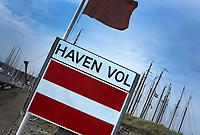 VLIELAND - haven van Vlieland is vol. . ANP COPYRIGHT KOEN SUYK