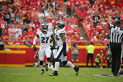 2017 Philadelphia Eagles at Kansas City Chiefs at Arrowhead Stadium on September 17, 2017 in Kansas City, Missouri. The Chiefs won 27-20. (Photo by Hunter Martin/Philadelphia Eagles)