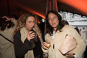 AMELIA TROUBRIDGE; SARA BLONDSTEIN, Opening of Photo London,  Somerset House. London. 20 May 2015