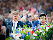 King Willem-Alexander and Queen Maxima of The Netherlands attend the National Remembrance ceremony a