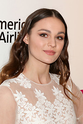 February 24, 2019 - West Hollywood, CA, USA - LOS ANGELES - FEB 24:  Sophie Skelton at the Elton John Oscar Viewing Party on the West Hollywood Park on February 24, 2019 in West Hollywood, CA (Credit Image: © Kay Blake/ZUMA Wire)