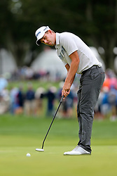 September 8, 2018 - Newtown Square, Pennsylvania, United States - Andrew Putnam putts the 16th green during the third round of the 2018 BMW Championship. (Credit Image: © Debby Wong/ZUMA Wire)