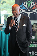 June 12, 2017-New York, New York-United States: Civil Rights Activist Dr. Robert Brown, Founder, B&C International attends ' Cocktails & Conversation with Ambassador Zindzi Mandela 'highlighting the advocacy for the equity and rights of girls and women held at the Lincoln Ristorante at Lincoln Center on June 12, 2017 in New York City. Powered by CareerBox Soweto, the organization's mission is fulfill the hopes and dreams of youth of South Africa. (Photo by Terrence Jennings/terrencejennings.com)