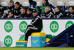 West Brom Manager Tony Pulis looks dejected with his side trailling 0-2 - Photo mandatory by-line: Rogan Thomson/JMP - 07966 386802 - 31/01/2015 - SPORT - FOOTBALL - West Bromwich, England - The Hawthorns - West Bromwich Albion v Tottenham Hotspur - Barclays Premier League.