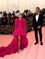 Doutzen Kroes attending the Metropolitan Museum of Art Costume Institute Benefit Gala 2019 in New York, USA.