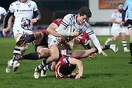 Bristol Bears Piers O'Conor  during the Gallagher Premiership Rugby match between Gloucester Rugby and Bristol Rugby at the Kingsholm Stadium, Gloucester, United Kingdom on 12 February 2021.