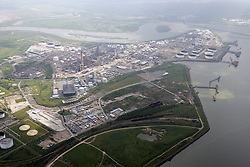 Image ©Licensed to i-Images Picture Agency. Aerial views. United Kingdom.<br /> CORYTON REFINERY<br /> NEAR BASILDON, ESSEX. Picture by i-Images