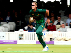 Stuart Broad of Nottinghamshire runs in to bowl during the Royal London One-Day Cup Final - Mandatory by-line: Robbie Stephenson/JMP - 01/07/2017 - CRICKET - Lord's Cricket Ground - London, United Kingdom - Nottinghamshire v Surrey - Royal London One-Day Cup Final 2017