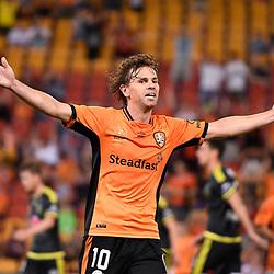 16th April 2017 - A-League RD27: Brisbane Roar v Wellington Phoenix
