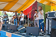 Railroad Earth at the 2010 Clearwater Festival, Croton-on-Hudson, NY.