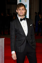 Douglas Booth attends the EE British Academy Film Awards in 2014. The Royal Opera house, London, United Kingdom. Sunday, 16th February 2014. Picture by Chris Joseph / i-Images