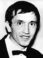 John Feeney, Armagh, Roman Catholic, married, 45 years, 8 children, who was one of three men shot dead in a UVF gun attack at a darts club, near Bleary, Co Armagh, N Ireland, on 27th April 1975. 197504270327<br />