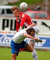 Fotball, Eliteserien, 31052004, Alfheim Stadion i Tromsø, Tromsø IL (TIL) - Vålerenga (VIF) 2-0, TILs Arne Vidar Moen<br /> FOTO: KAJA BAARDSEN/DIGITALSPORT