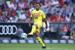 August 1, 2017 - Munich, Germany - Faouzi Ghoulam of Napoli during the first Audi Cup football match between Atletico Madrid and SSC Napoli in the stadium in Munich, southern Germany, on August 1, 2017. (Credit Image: © Matteo Ciambelli/NurPhoto via ZUMA Press)