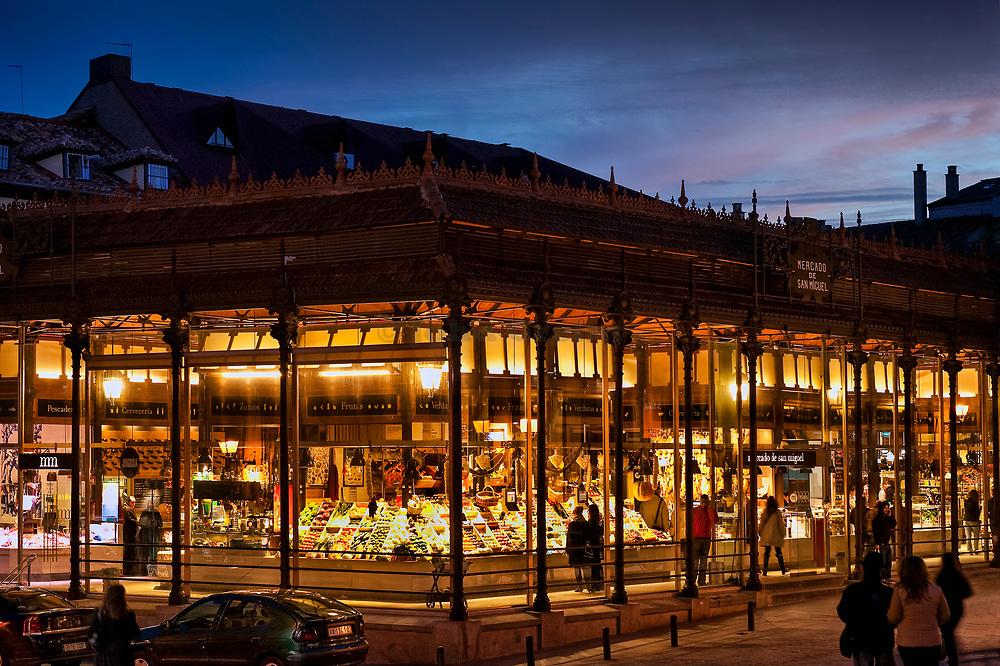 Market, Mercado de San Miguel, Madrid, Spain