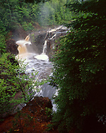 Copper Falls State Park, Wisconsin, August, 1993.