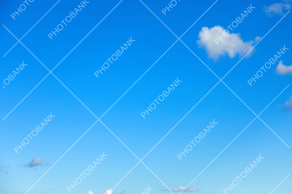 Blue sky perfect for background