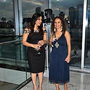 Radio Producer Gabriella Incalza and Sunrise Radio presenter Sonia Dutta attend at Asian Restaurant & Takeaway Awards | ARTA 2018 at InterContinental London - The O2, London, UK. 30 September 2018.