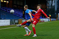Ryan Croasdale. Stockport County FC 2-0 Wrexham FC. Vanarama National League. 28.12.20