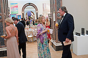 DAME GILLIAN SACKVILLE; STEPHEN FRY, Triennial Summer Ball, Royal Academy. Piccadilly. London. 20 June 2011. <br /> <br />  , -DO NOT ARCHIVE-© Copyright Photograph by Dafydd Jones. 248 Clapham Rd. London SW9 0PZ. Tel 0207 820 0771. www.dafjones.com.