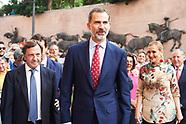 061617 King Felipe VI attends Bullfights in Madrid