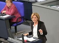DEU, Deutschland, Germany, Berlin, 29.10.2020: Deutscher Bundestag, Rede von Malu Dreyer (SPD), Ministerpräsidentin von Rheinland-Pfalz, nach der Regierungserklärung von Bundeskanzlerin Dr. Angela Merkel (CDU) zur Bewältigung der COVID-19 Pandemie.