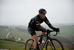 Julie Leth at Strade Bianche - Elite Women 2018 - a 136 km road race on March 3, 2018, starting and finishing in Siena, Italy. (Photo by Sean Robinson/Velofocus.com)