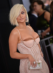 Bebe Rexha attends the 60th Annual GRAMMY Awards at Madison Square Garden on January 28, 2018 in New York City, NY, USA. Photo by Lionel Hahn/ABACAPRESS.COM
