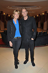 SAM BRANSON and ISABELLA ANSTRUTHER-GOUGH-CALTHORPE at a screening hosted by 'The Volunteer' of a documentary film of work in Haiti, held at the Courthouse Hilton Hotel, 19-21 Great Malborough Street, London on 29th March 2011.