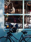 Belleville street scene, Paris, France