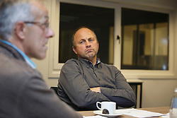 Govaerts Jef, Van Vuchelen Patrick, (BEL)<br /> Reportage veulen controleurs BWP - Oud Heverlee 2015<br /> © Dirk Caremans<br /> 28/10/15
