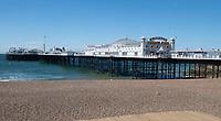 Brighton Palace Pier closed Photo Brian Jordan