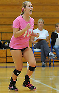 Elyria Catholic at Midview JV volleyball on September 20, 2012. Images © David Richard and may not be copied, posted, published or printed without permission.