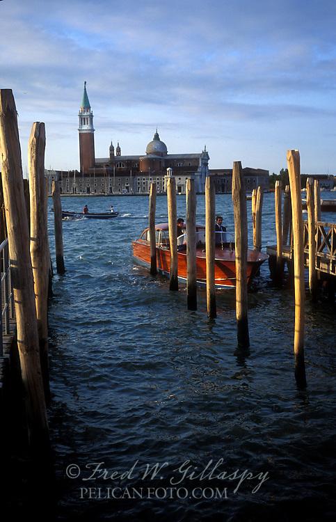 Motor Boat - Venice, Italy