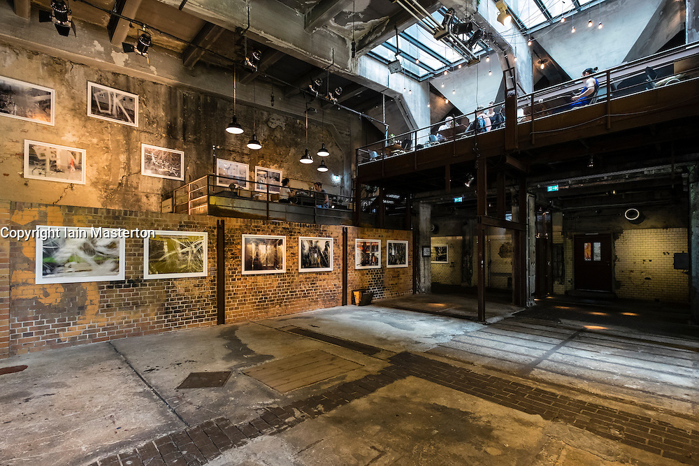 Former brewery buildings now being renovated as a cultural and art venue at Botzow in Prenzlauer Berg Berlin Germany